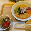 Thizutantan - 料理写真:白ごまたんたん麺とミニ牛丼