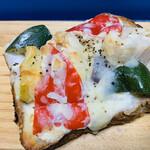 124384567 - 「野菜ゴロゴロトースト」!