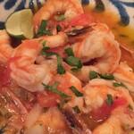 サルシータ - 海老のにんにく唐辛子炒め ニンニクが効いていて大好きな味でした