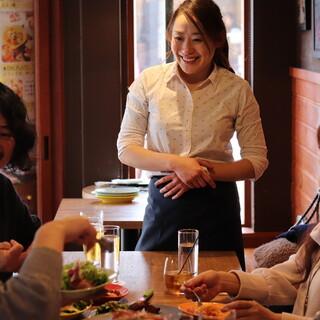 笑顔と活気が溢れるお店を目指す店長・大島の想い