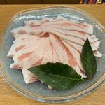 まつもと - 料理写真:アグー豚しゃぶしゃぶ