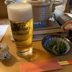 まつもと - オリオン生ビール