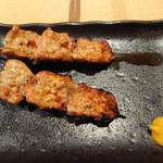 炭火鶏焼肉 しんざん -