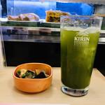 Sushizammai - 緑茶ハイとお通し