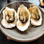 いかだ荘 山上 - 焼牡蠣
