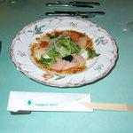 1244074 - 3種魚卵乗せ素敵な前菜
