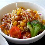 レストラン グリーンパーク - サラダのアップ