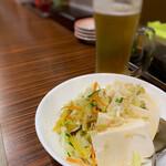 爽爽 - 豆腐サラダ