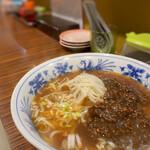 爽爽 - 肉みそあんけ麺(汁あり)