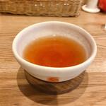 Orange Fields Tea Garden - 1杯目 キャラメルティー