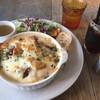カフェ ブボ セカンドハウス - 料理写真:週替わりドリアプレート・アイスコーヒー