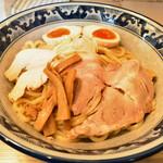 秋葉原つけ麺 油そば 楽 - 油そば+味玉(780円+LINEクーポン)
