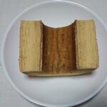 乳糖製菓 - バニラ断面
