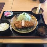 平田牧場 - 三元厚切とんかつセット 1500円