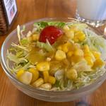 ケニーズハウスカフェ - サラダ。