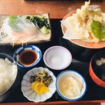 魚庄 - いか定食
