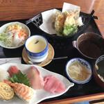 魚庄 - 天寿司御膳