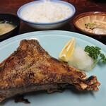 ささ乃木 - 【鮪カマ焼定食】税込¥950