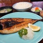 ささ乃木 - 【鯖塩焼定食】税込¥850