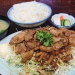 ささ乃木 - 【生姜焼定食】税込¥700
