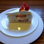 サボイア s-21 - 苺の ショートケーキセット1000円
