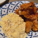 パッパーレ・ヴィーノ - ♦︎国産鶏モモ肉の唐揚げタルタルソース 649