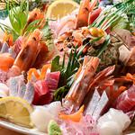 いけす海幸 - 料理写真:刺身盛合せ