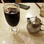 レストランオオタニ - アイスコーヒー。