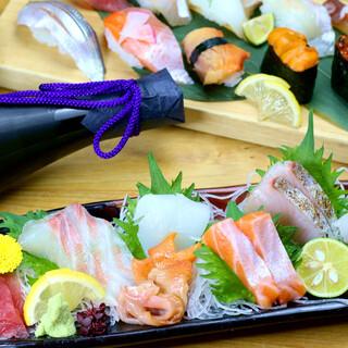 鮮度も味も当たり前◎魚介海鮮料理で味わえる旬のど真ん中!!
