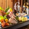 魚肴 青天上 - 料理写真:刺盛り5点盛り TAX抜き 980円(肴魚店のみ)