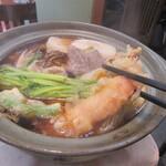 志美津や - 「鍋焼きうどん」のスタイル
