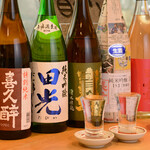 手打うどん かとう - 日本酒