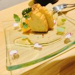 スタンド 四坪 - ブルーチーズのケーキ