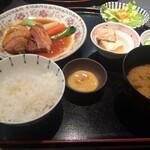 CADET 山田屋 - 角煮定食