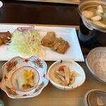 124435658 - マミーすいとん定食(1,300円)