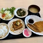 カフェ食堂 ファンファン - 料理写真:日替わり定食、ちょと高めかな…?