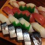 ほくしょう - おまかせ握り寿司。サバ寿司オススメ!