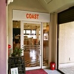 スポーツレストラン コースト - テニスコート事務所2Fにあるお店の外観