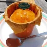 アランチャ - オレンジの温バターケーキ