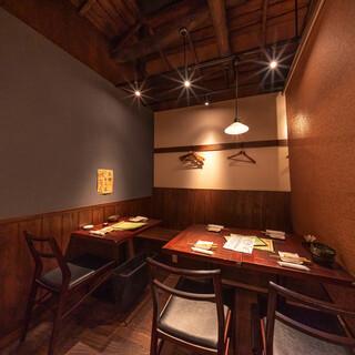 【駅近2分】宴会貸切可能!プライベートでも2名様半個室を完備