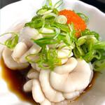 楽笑 - 料理写真:温ったかタラの白子ポン酢