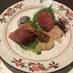 磯原シーサイドホテル - 新鮮魚介の盛り合せ