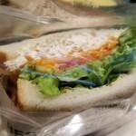 124469467 - RBセット(890円)のお好きなパン(320円以内-バードッグサンド)