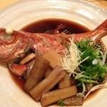 和食 お酒 彩は - 金目鯛姿煮