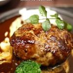 グールマンド - 料理写真:ハンバーグ
