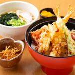 豊後茶屋  - 天丼定食