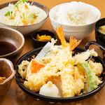 豊後茶屋  - 天ぷら定食