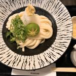 讃岐うどん 白庵 - 生醤油うどん(冷)