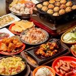 上野 肉処 肉の権之助 - 人気のセルフたこ焼き&もんじゃを始め、肉握り、お鍋、肉料理、デザートまで全て食べ放題でご用意!
