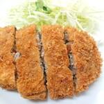 天平食堂 - 牛メンチカツ定食